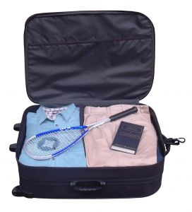 Ik ben op reis en ik neem mee, een stevige koffer!