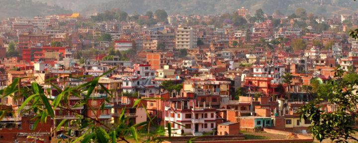 Op de motor door Nepal