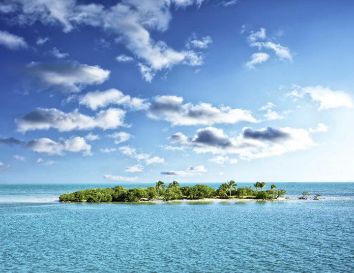 Vakantie op een onbewoond eiland
