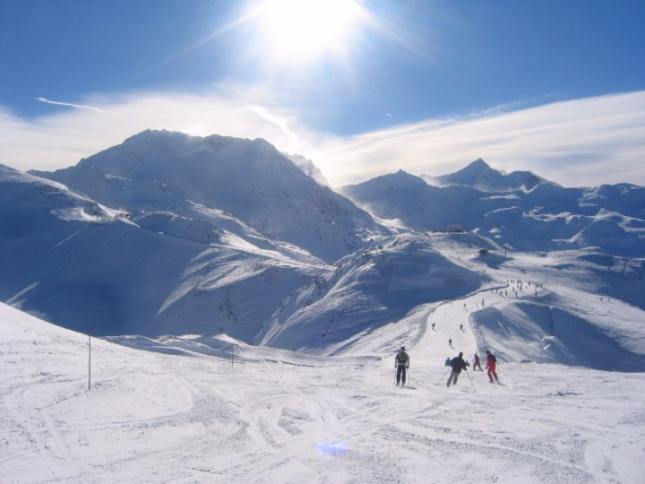Op skivakantie naar Frankrijk