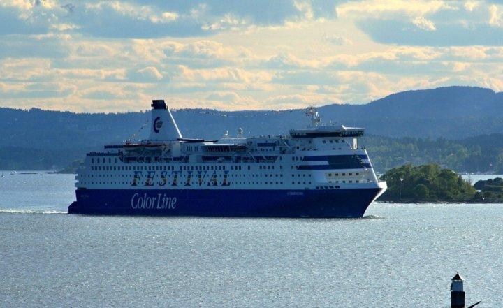Met de ferry van Kiel naar Oslo