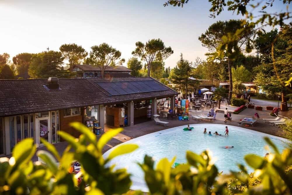 Camping Altomincio Family Park, Gardameer Italie