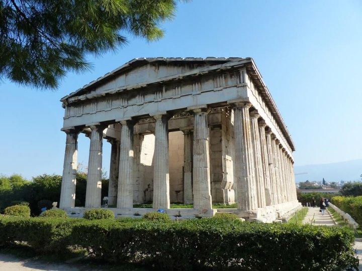 De Agora in Athene