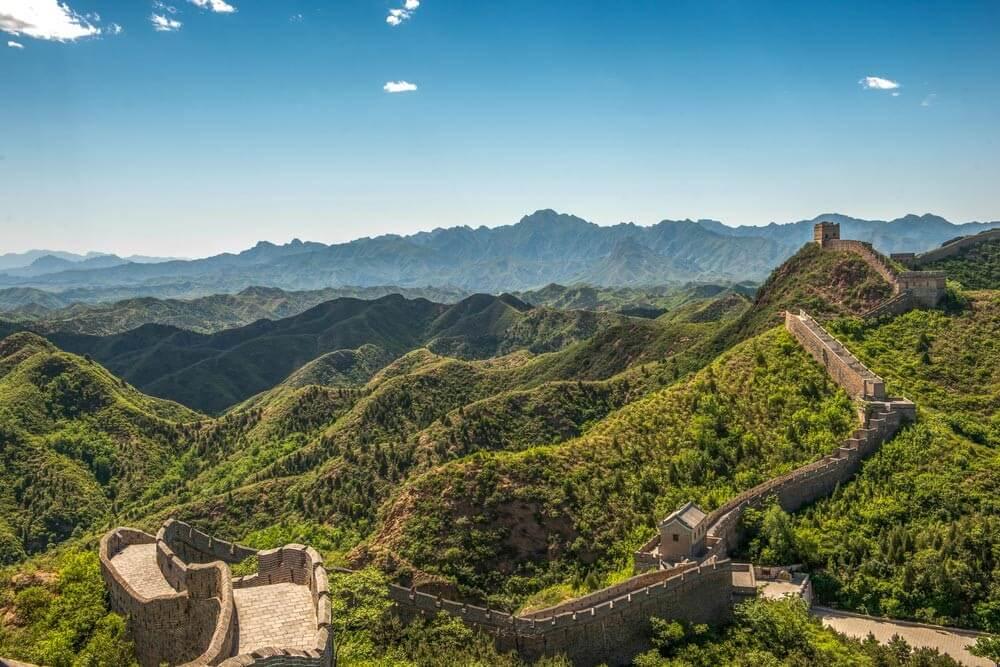 Chinese muur hoe lang
