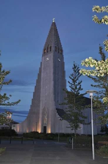 Hallgrimskirkja kerk in Reykjavik