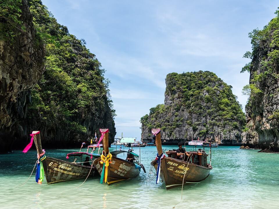 Koh Phi Phi eilandhoppen thailand