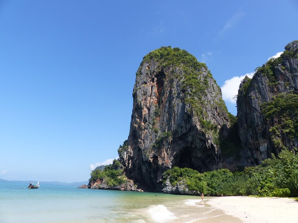 Krabi thailand eilandhoppen