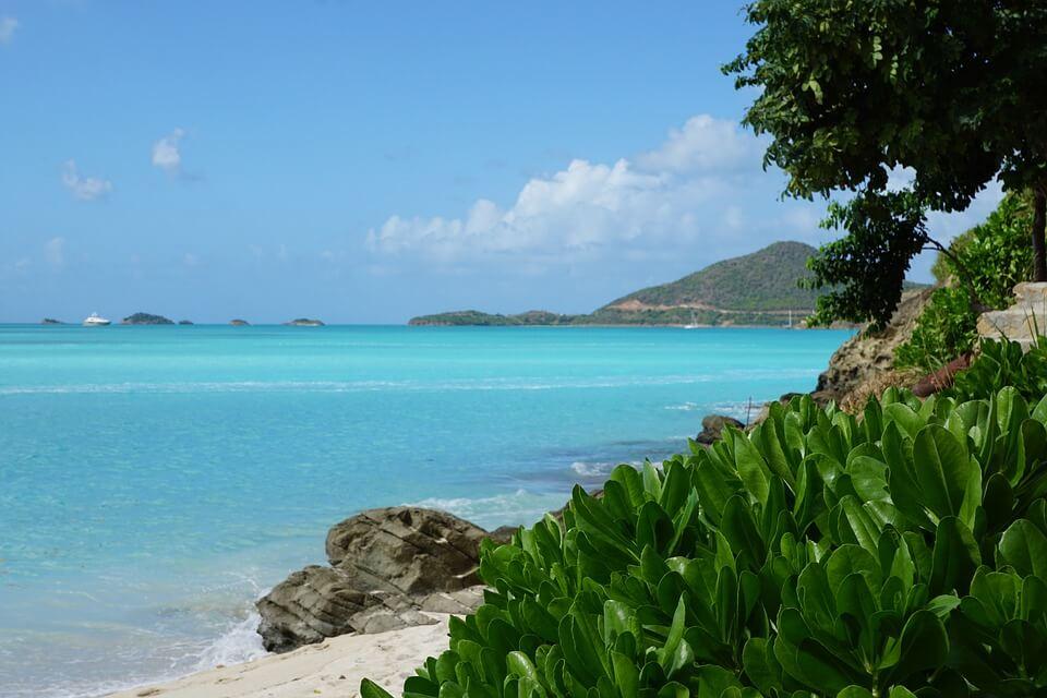 Luxe vakantie caribbean groen