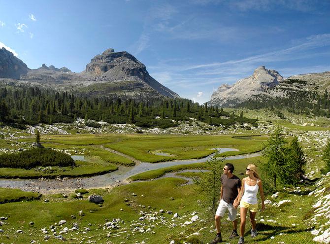 Parco Naturale Fanes-Sennes fietsen mountainbiken dolomieten