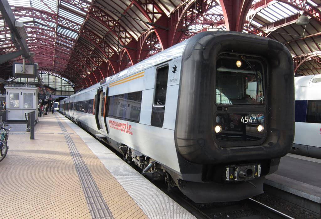 Trein naar Kopenhagen - Treinreis van Amsterdam naar Kopenhagen