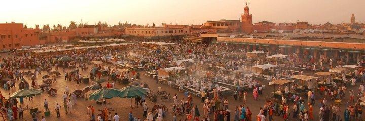 Medina van Marrakech: grootse wirwar