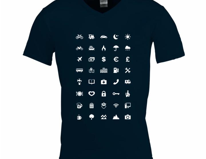 Communicatieproblemen? Neem dit handige t-shirt mee op vakantie!