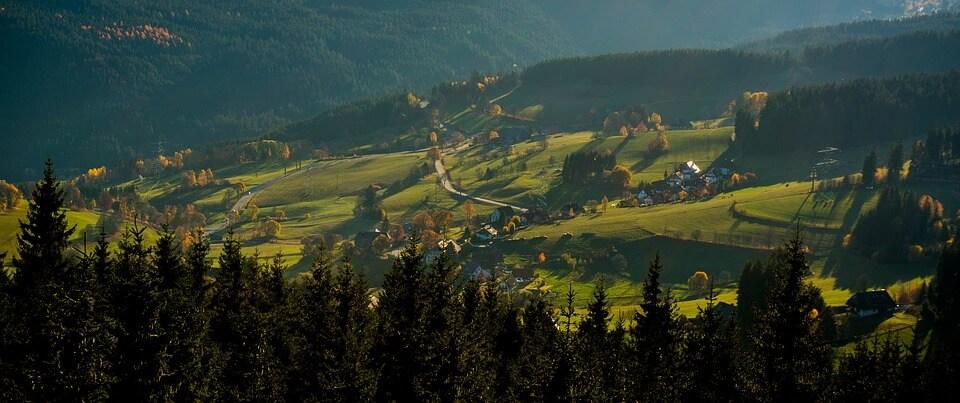 zwarte woud zuidelijke motor route pan germania