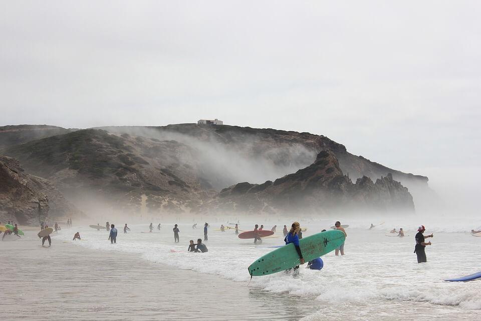 Praia amado portugal camperreis