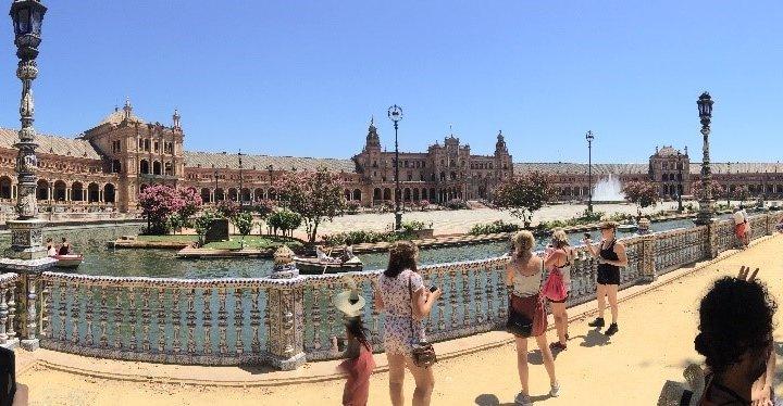 Solo backpacker in Zuid-Spanje
