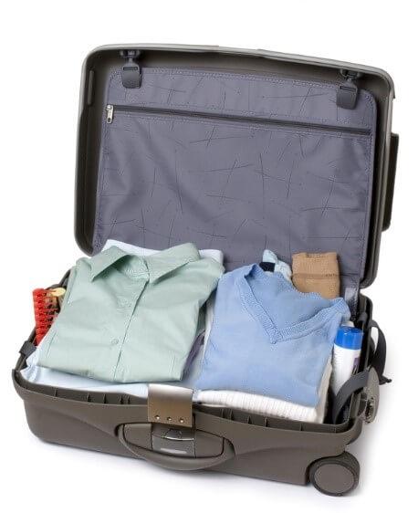 koffer op de juiste manier inpakken