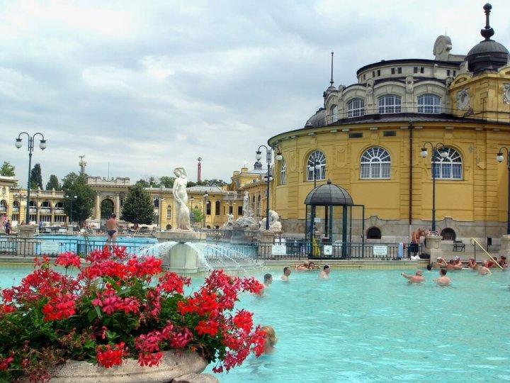 Széchenyibad - Badhuis Boedapest