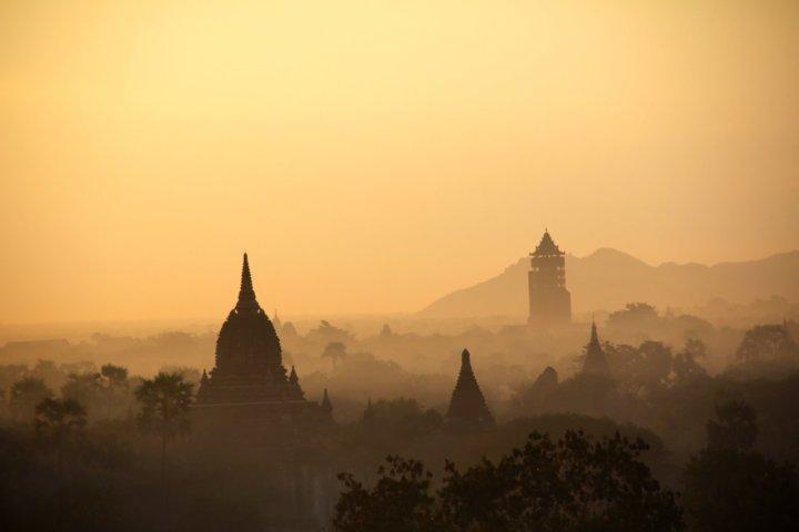 De mooiste tempels van Myanmar