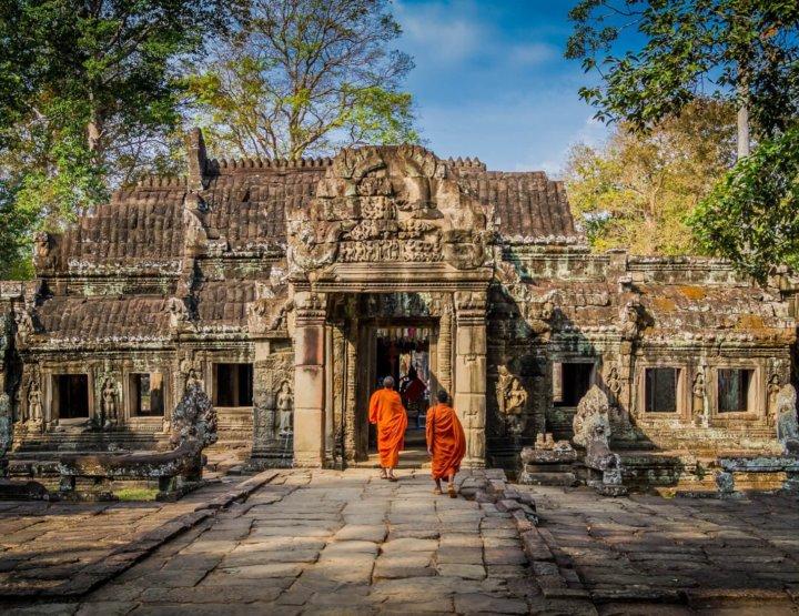 Bezoek Cambodja in twee weken