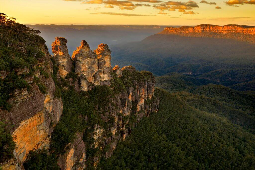 blue mountains sydney australie