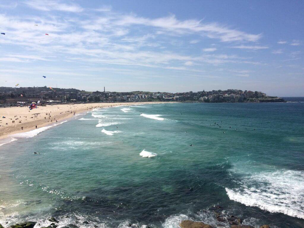 bondi beach sydney goedkoop bezoeken