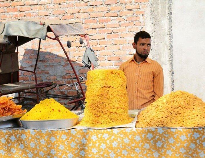 Het heerlijke eten van India