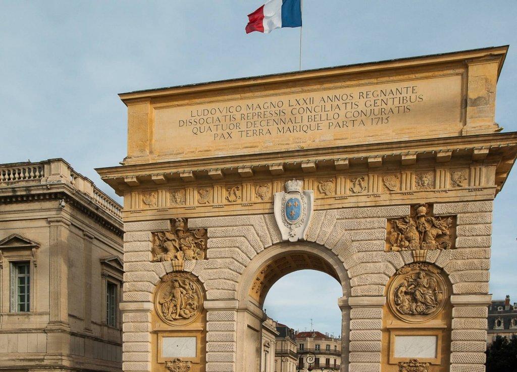 De Peyrou Montpellier