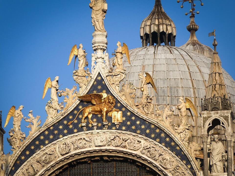 Basiliek San Marco Venetië