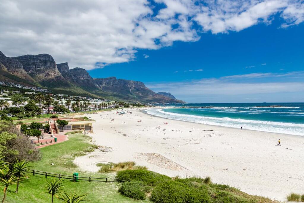 Camps Bay strand Kaapstad