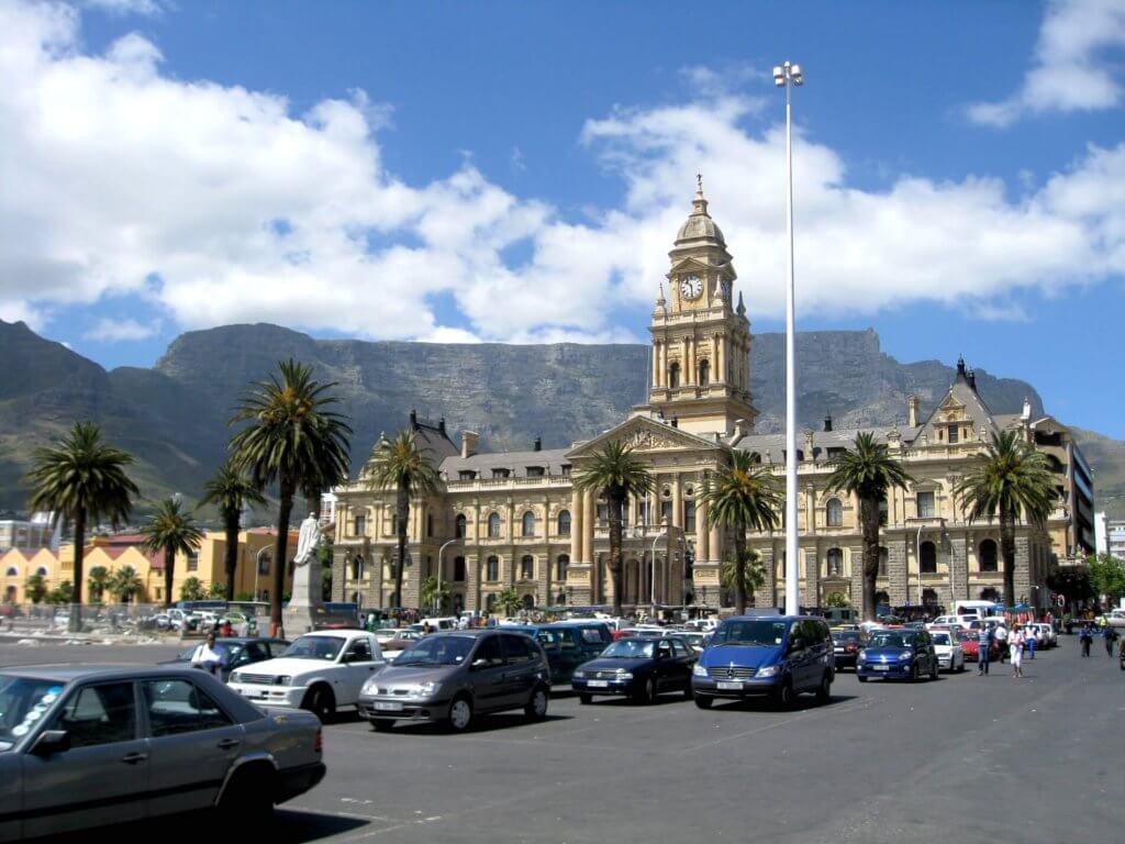 Stadshuis Kaapstad