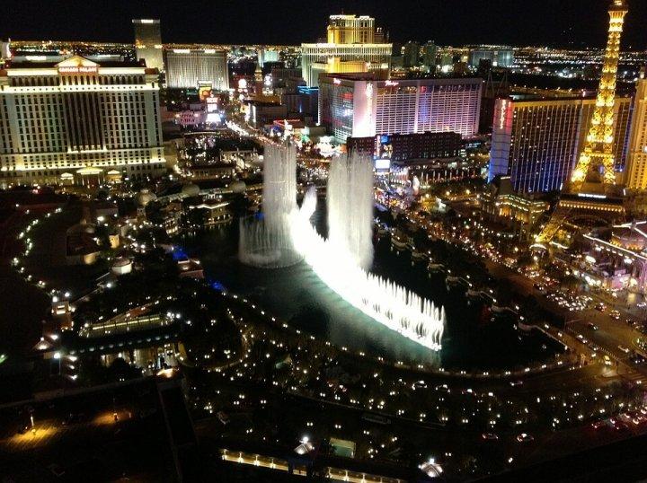 In één dag de strip van Las Vegas bezoeken