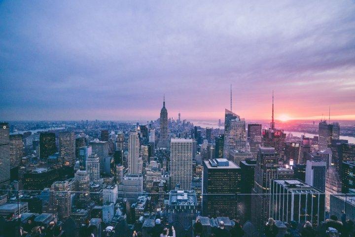 De verschillende wijken van New York
