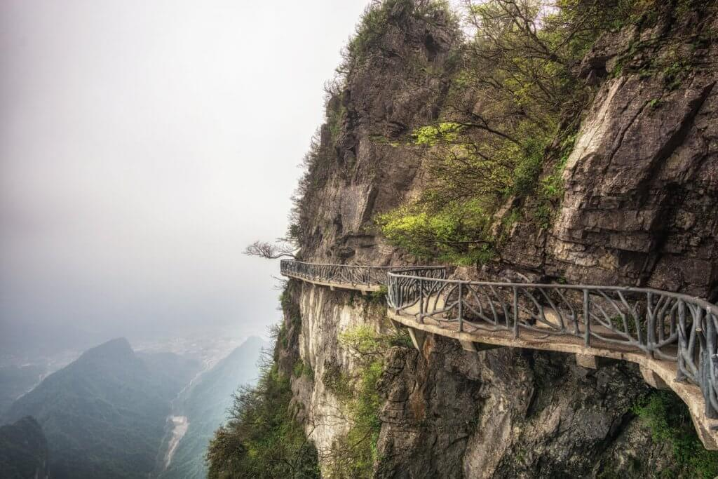 Tianmen berg china