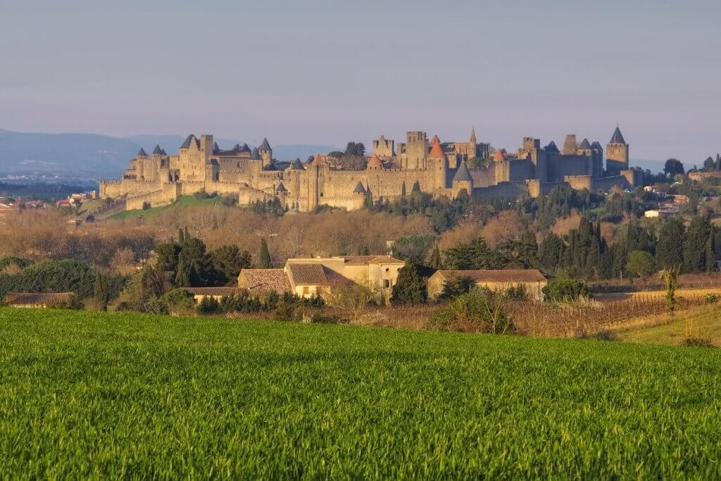Carcassonne uitzicht