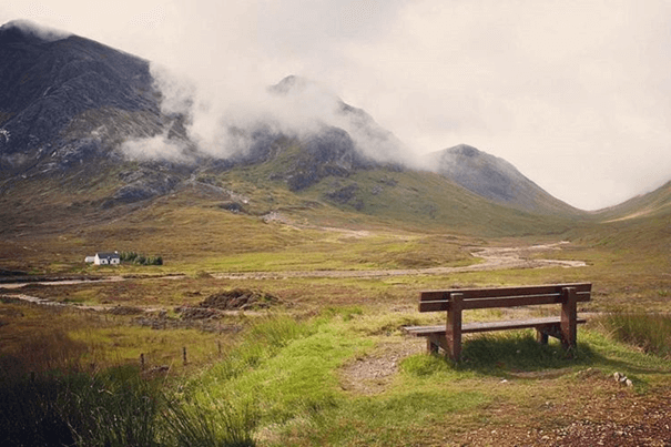 West Highland Way in Schotland