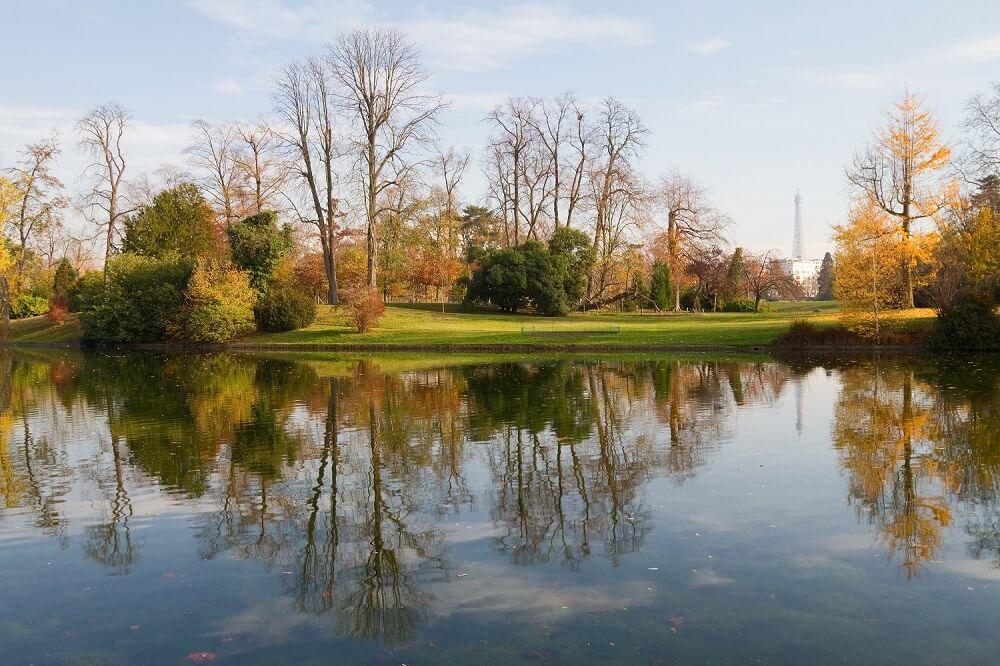 Bois de Bologne Parijs
