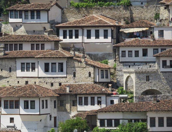 Backpacken door Albanië
