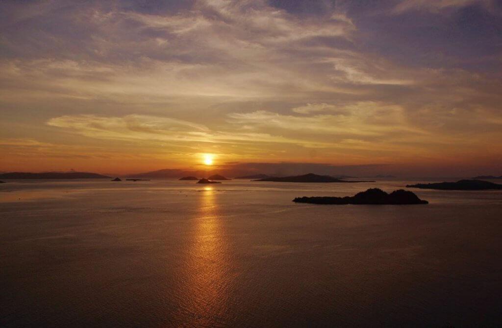 komodo national park zonsopkomst3