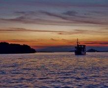 komodo national park zonsopkomst