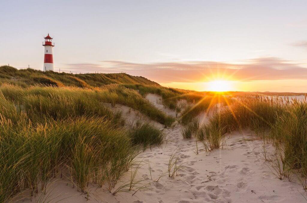 zonsondergang friesland