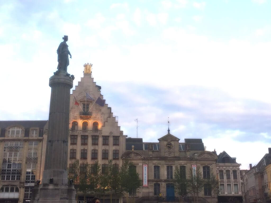 La Grande Place in lille