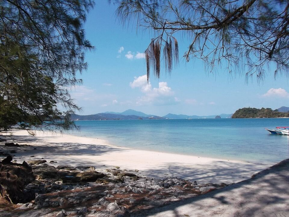 Langkawi Maleisie stranden