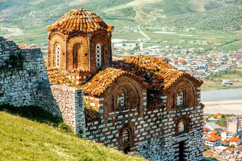 St. Theodores kerk in Berat albanie