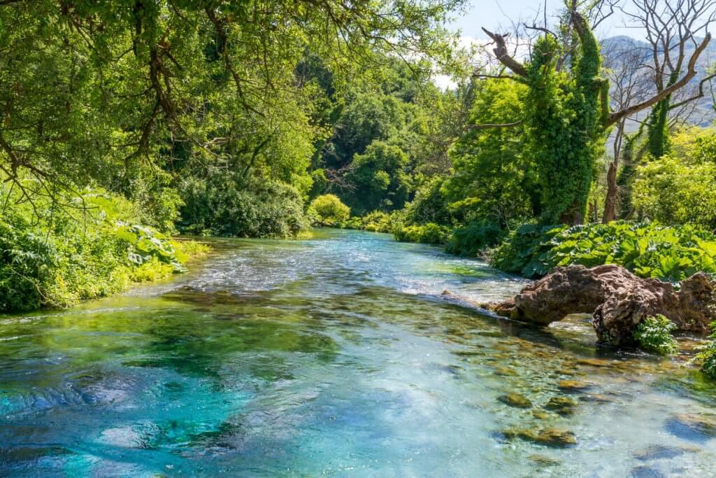 het Blauwe Oog albanie