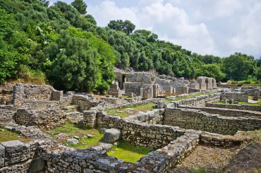 Ruins of Butrint, Albanie