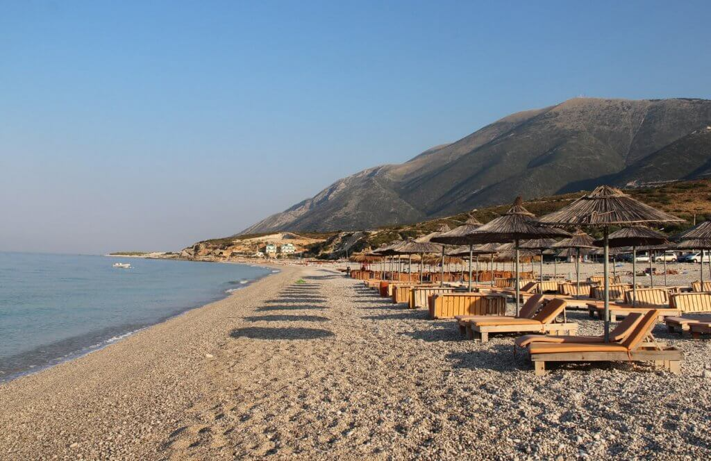 dhermi strand albanie reistips