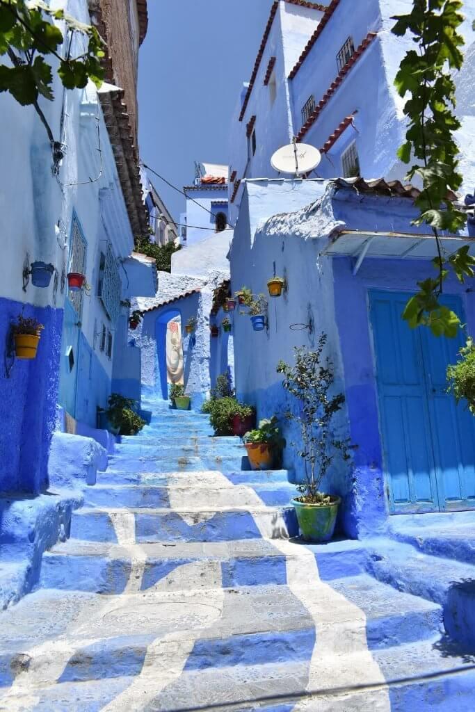 Chefchaouen, de magisch blauwe stad van Marokko