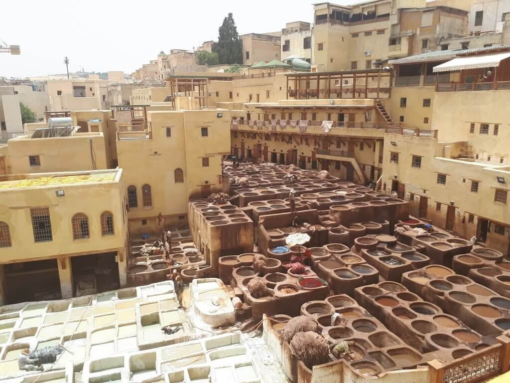 Fes, een van de 4 koningssteden van Marokko