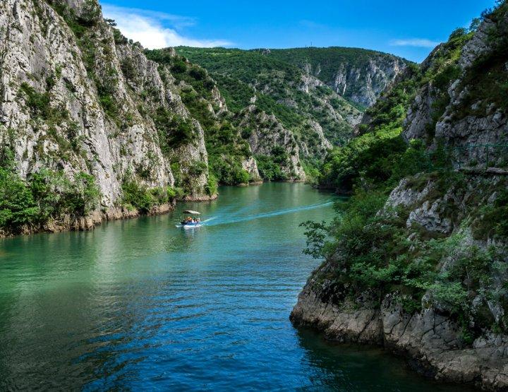 Matka Canyon in Macedonië