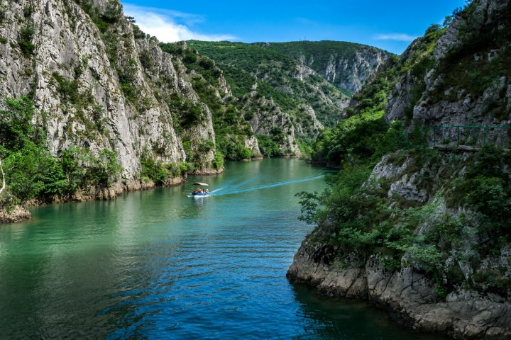 Matka Canyon in Macedonië